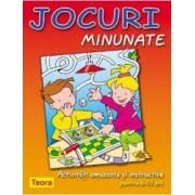 Jocuri Minunate - Activitati amuzante si instructive pentru 6-10 ani