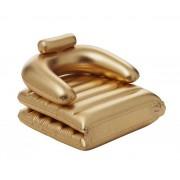 Gold Chair arany felfújható úszó fotel