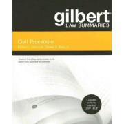 Gilbert Law Summaries on Civil Procedure by Richard Marcus