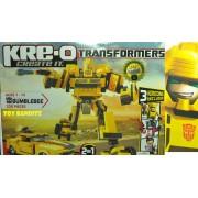 Transformers - Kre-O - Robot Et Voiture À Construire - Bumblebee : 335 Pièces
