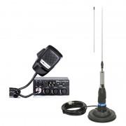 Kit Statie radio CB Midland M Zero + Antena Midland ML145 cu magnet (Midland)