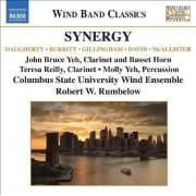 Daugherty/ Burritt/ David - Synergy: Music For Wind Ba (0747313231973) (1 CD)