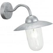 EGLO Wandlamp voor buiten Milton 60 W zilver 88489