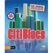 Citiblocs Cool Colors Precision Cut Building Blocks (100 Piece Cool) (japan import)