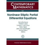 Nonlinear Elliptic Partial Differential Equations by Denis Bonheure