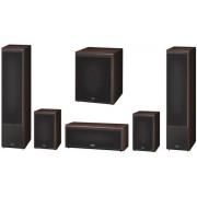 Sistem Boxe Magnat Monitor Supreme 1002 + 102 + Center 252 + Sub 302A, 5.1 (Maro)