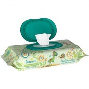 Pampers Natural Clean Baby Wipes - 64 ct Size 64 ct