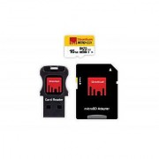 Strontium 16GB NITRO 65MB/s 433x MicroSD Card + with Adapter Card Reader