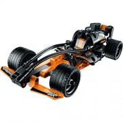 137 PCS Black Champion Racer King Steerer Block Set with Pull Back Technic