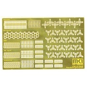 1/700 Ship Model For Etching Series No.70010 Japanese Naval Vessels For Carrier Based Aircraft For Detail Up Set (Japan Import)