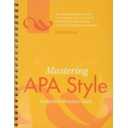 Mastering APA Style by American Psychological Association