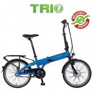 "Prophete Navigator 6.1 Trio 20"" E-Bike Faltrad blau"