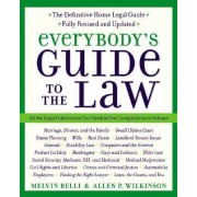 Everybody's Guide to the Law by Melvi Belli