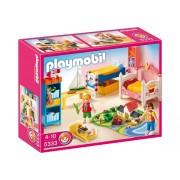 Playmobil 5333 - Giochi, Camera da letto dei bambini con letti decorati