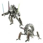 STAR WARS Transformers Gree bus Shogun / grievous wheel bike (japan import)