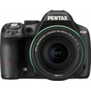 Aparat Foto DSLR Pentax K-50 kit 18-135mm WR Black