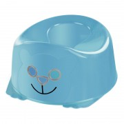 Olita Pott Reer, model Smiley Face, Albastru