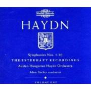 Adam Fischer, Austro-Hungarian Haydn Orchestra - Haydn: Symphonies Nos. 1-20 (0710357542626) (5 CD)