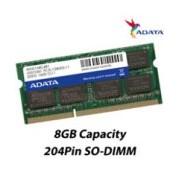 MEMORIA ADATA SODIMM DDR3L 8GB PC3-12800 1600MHZ CL11 204PIN 1.35V P/LAPTOP