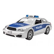 Revell - 00802 - Voiture - Police Car à monter - Blanc - Échelle 1/20 - 26 pièces