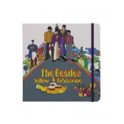 The Beatles Carnet Yellow Submarine 17,5 X 17,5 Cm