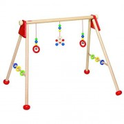 Heimess Hochet - Baby Gym - Ours Coeur - 63 x 53 x 55 cm