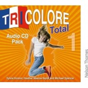 Tricolore Total 1 Audio CD pack (5x Class CDs 1x Student CD) by Sylvia Honnor