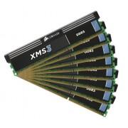 Corsair XMS K8 Kit di Memoria RAM da 64GB, 8x8GB, Nero