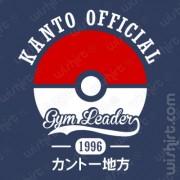 T-shirt Pokémon Kanto Official