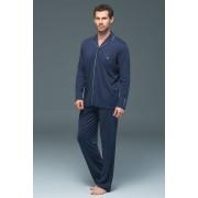 Мъжка пижама Lion Navy от модал