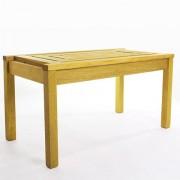 Mesa de Centro Echoes Stain Amarelo