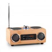 ONECONCEPT BAMBOOST 3G бамбукова портативна тонколона FM радио USB SD AUX (TTS5-Bamboost-3G)
