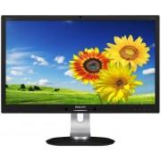 "Monitor IPS LED Philips 23"" 231P4QPYKEB/00, Full HD (1920 x 1080), VGA, DVI, DisplayPort, 7 ms, Boxe, Pivot (Negru)"