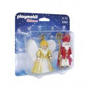 PLAYMOBIL® Sint Nicolaas met kerstengel 5592
