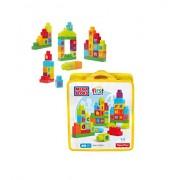 Mega Bloks - Bolsa ABC first builders, juego de construcción (Mattel DKX58)