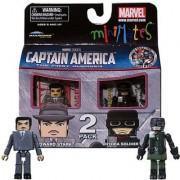 Minimates Marvel Comics Series 40 Captain America - Howard Stark and Hydra Soldier 2 pack Mini Figure