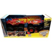 Hot Wheels Monster Jam Rev Tredz Double Pack Marvel Super Heroes: Iron Man vs Spider-Man by Hot Wheels