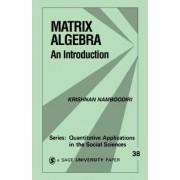 Matrix Algebra by Krishnan Namboodiri