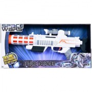 Space Wars SeriesPlanet Of Toys Space Gun Big 43Cms (Led Light And Sound)