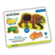 The World of Eric Carle(tm) Brown Bear, Brown Bear... My First Touch & Feel Puzzles
