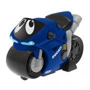 Chicco - Motocicleta Turbo Touch Ducati, recorre más de 10 metros, color azul