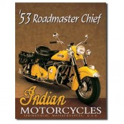 """""""Sign - Indian Roadmaster Chief 1953"""""""