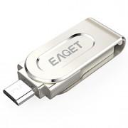 Eaget V88-32G 32GB USB 3.0Resistente ao Choque / Tamanho Compacto / Rotativo / Suporte de OTG (Micro USB) / Resistente à Água /