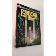 Tintin Vol 714 Pour Sydney E O 1968 2nd Tirage