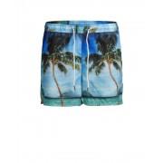 Jack & Jones Sunset Swim Shorts Navy Blazer Badshorts Herr
