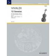 Twelve Sonatas Op 2 Heft 1 by Antonio Vivaldi