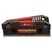 Corsair CMY16GX3M2A2400C11R Vengeance Pro Series 16GB (2x8GB) DDR3 2400Mhz CL11 Mémoire pour ordinateur de bureau performante avec profil XMP. Rouge