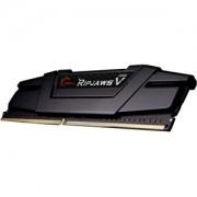 Memorie G.Skill Ripjaws V Classic Black 16GB (1x16GB) DDR4 3200MHz CL16 1.35V Intel Z170 Ready XMP 2.0, F4-3200C16S-16GVK