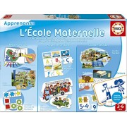 Educa Borras 15876 - Juego educativo, Kindergarten [francés]