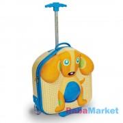 Oops Gurulós bőrönd - kutyus
